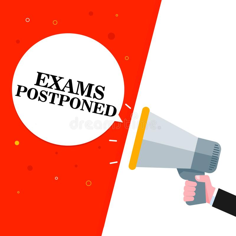 Entrance Exam postponed till further notice