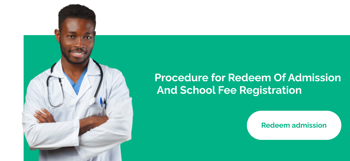 Procedure for Redeem Of Admission And School Fee Registration